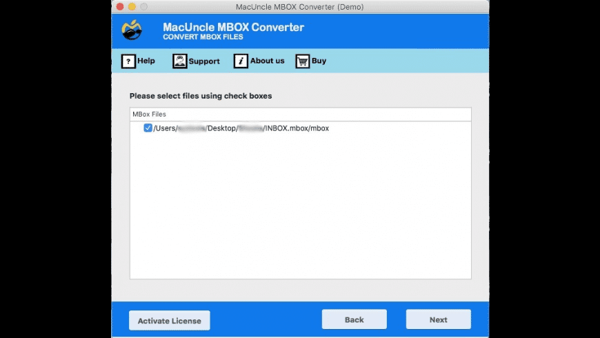 MacUncle MBOX Converter for Mac - review, screenshots