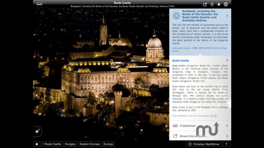 Fotopedia Heritage for Mac - review, screenshots