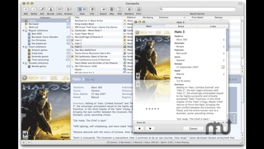 Gamepedia for Mac - review, screenshots
