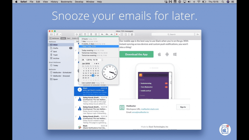 Mailbutler for Mac - review, screenshots