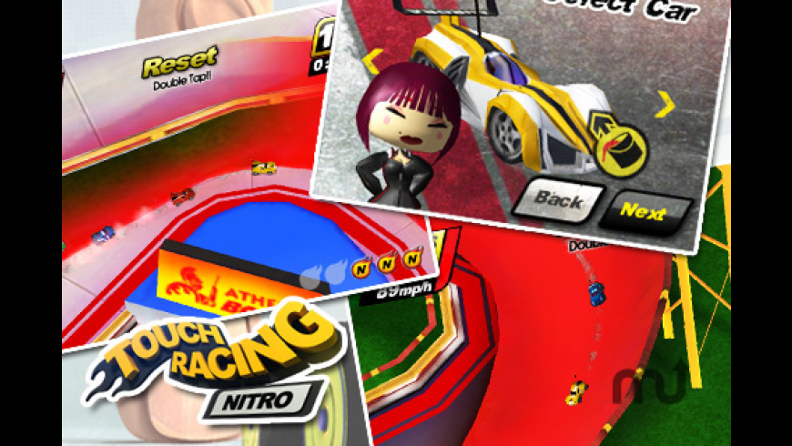 Touch Racing Nitro - Ghost Challenge! for Mac - review, screenshots
