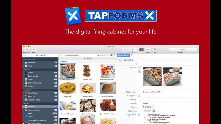 Tap Forms for Mac - review, screenshots