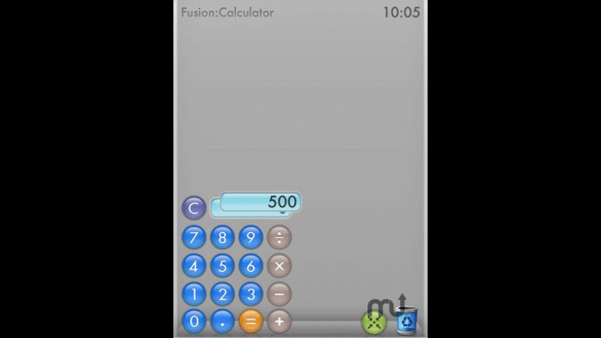Fusion Calculator for Mac - review, screenshots