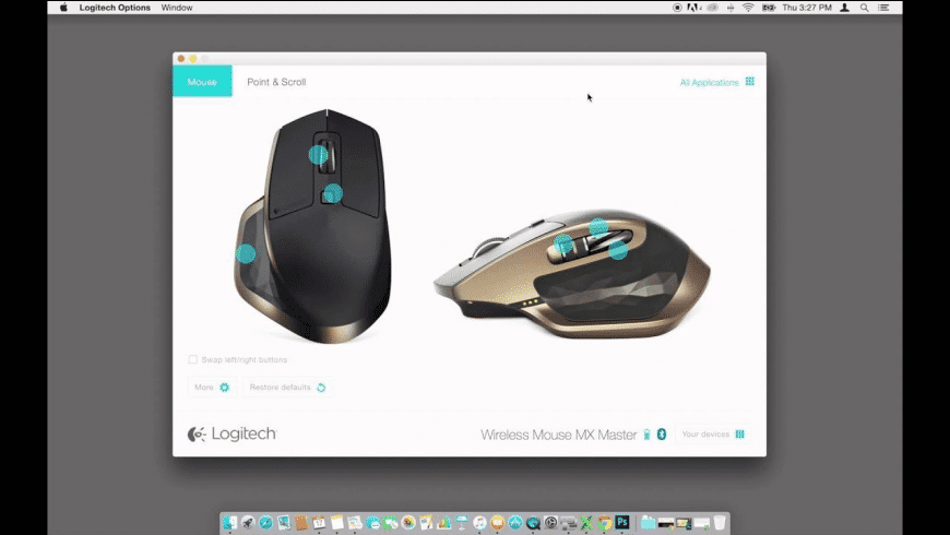 Logitech Options for Mac - review, screenshots