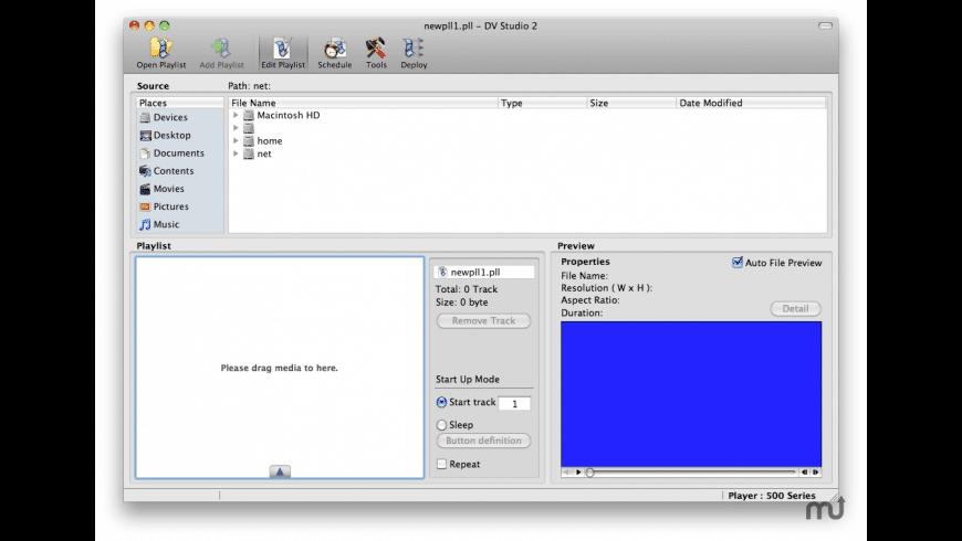 DV Studio 2 for Mac - review, screenshots
