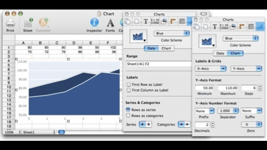 Tables for Mac - review, screenshots