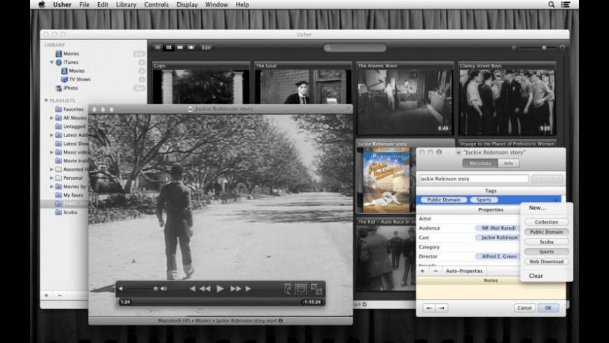 Usher for Mac - review, screenshots