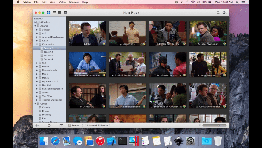 iVideo for Mac - review, screenshots