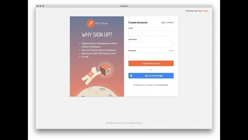 Postman for Mac - review, screenshots
