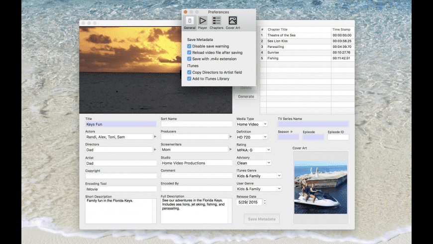 MetaDoctor Pro for Mac - review, screenshots