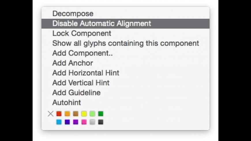 Glyphs Mini for Mac - review, screenshots