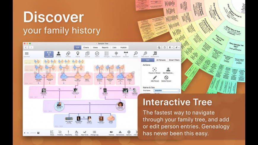 MacFamilyTree for Mac - review, screenshots