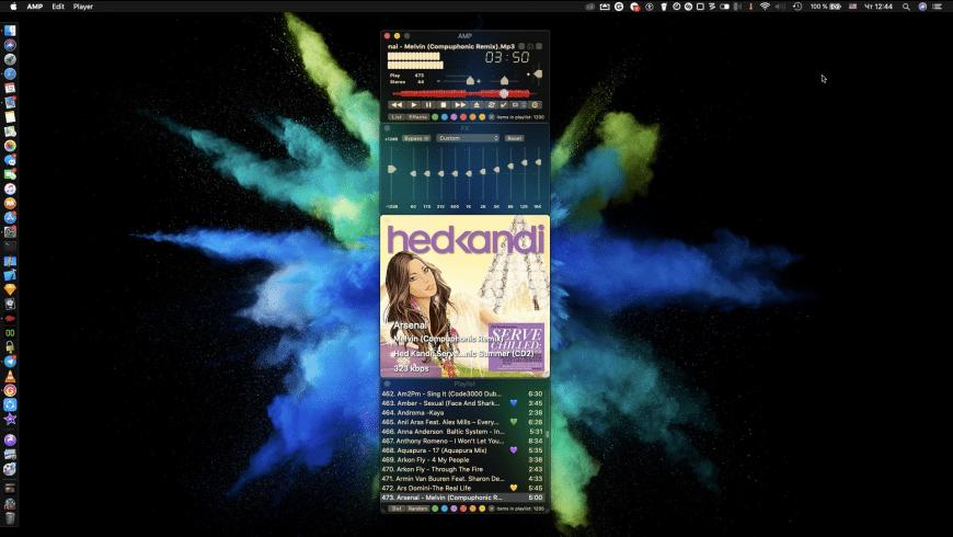 AMP for Mac - review, screenshots