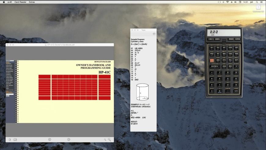 c-41 for Mac - review, screenshots