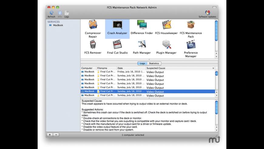FCS Maintenance Pack Network Admin for Mac - review, screenshots