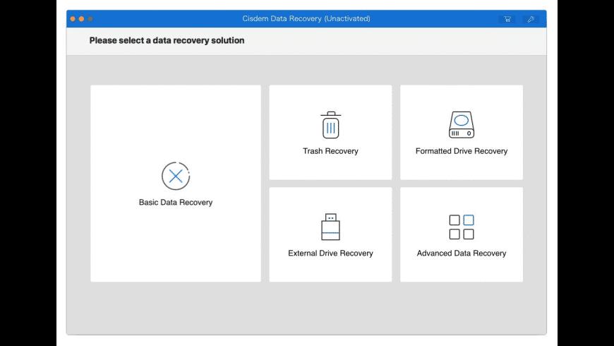 Cisdem Data Recovery for Mac - review, screenshots