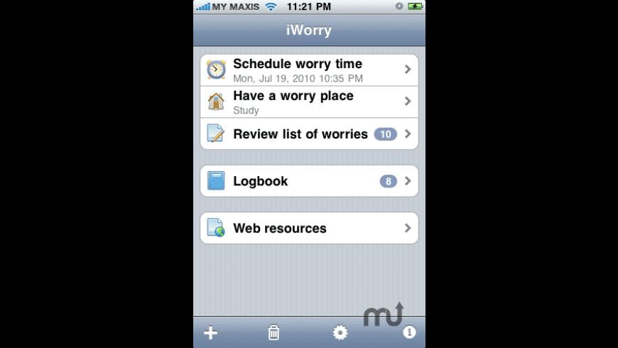 iWorry for Mac - review, screenshots