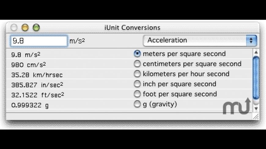 iUnit for Mac - review, screenshots