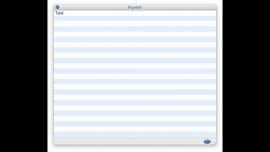 Plunkit! for Mac - review, screenshots
