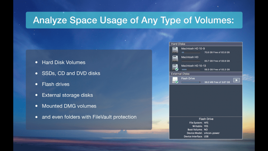 Disk Space Analyzer for Mac - review, screenshots