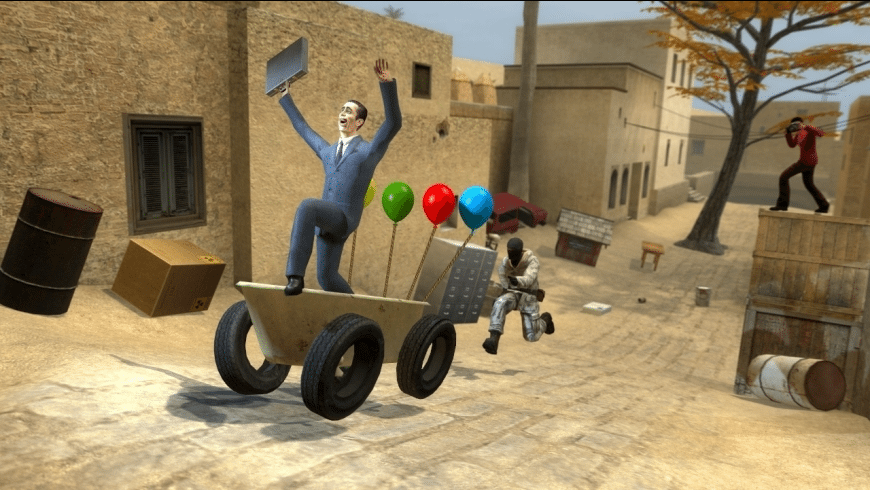 Garry's Mod for Mac - review, screenshots