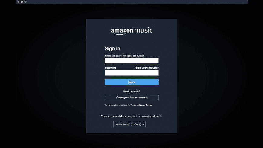 Amazon Music for Mac - review, screenshots