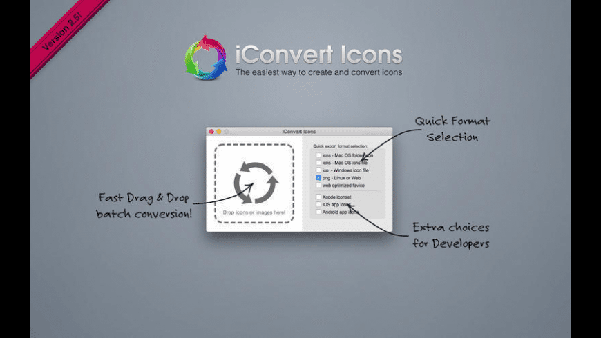 iConvert Icons for Mac - review, screenshots