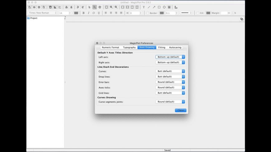 MagicPlot Pro for Mac - review, screenshots