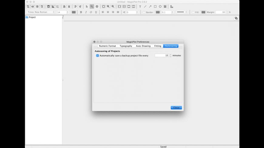 MagicPlot Student for Mac - review, screenshots