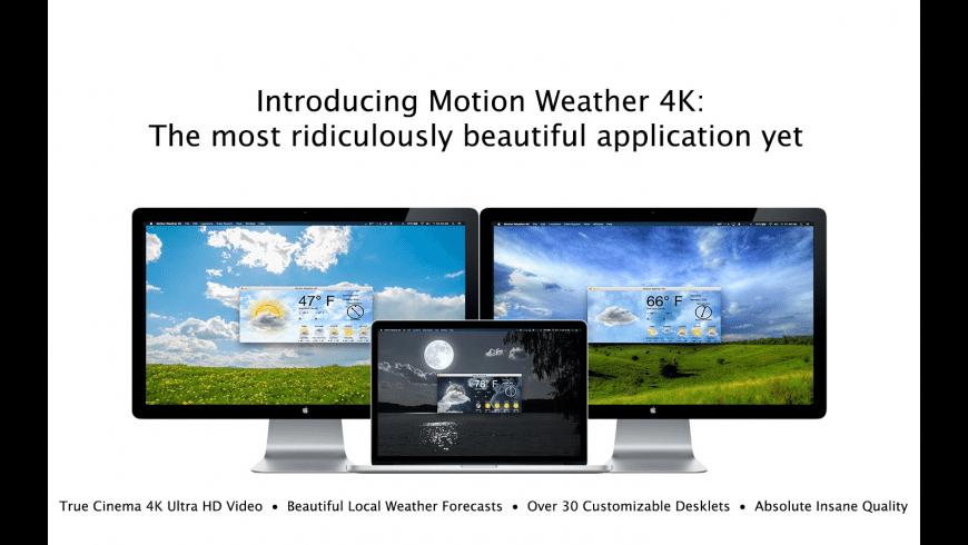 Motion Weather 4K - Ultra HD for Mac - review, screenshots