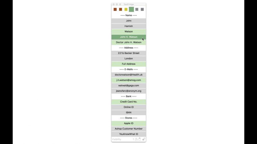 TextFridge for Mac - review, screenshots