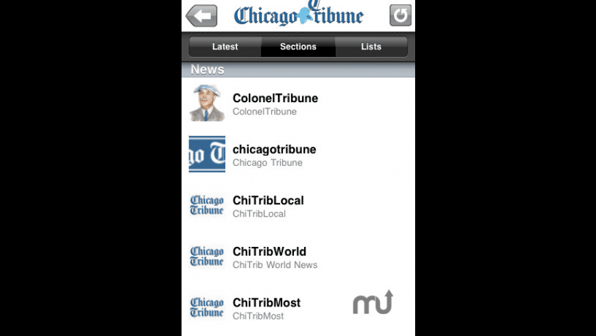 Chicago Tribune for Mac - review, screenshots
