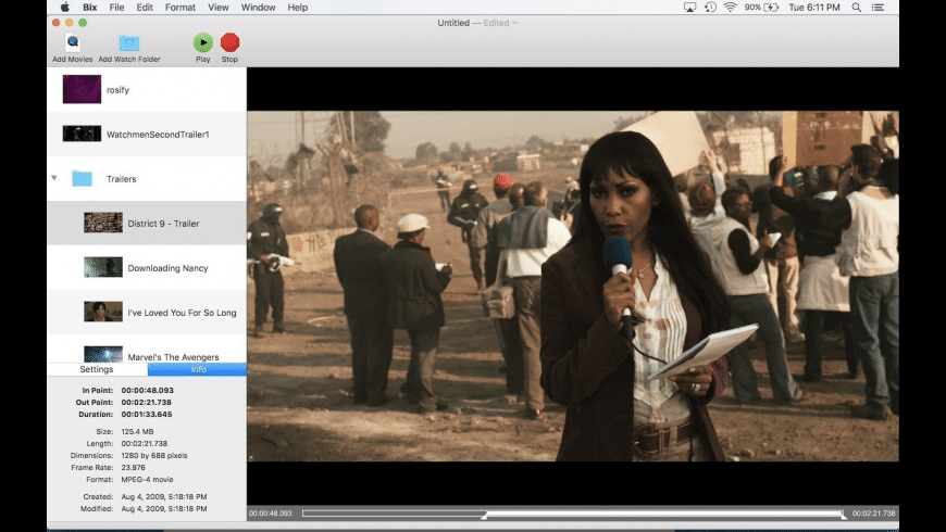 Bix for Mac - review, screenshots