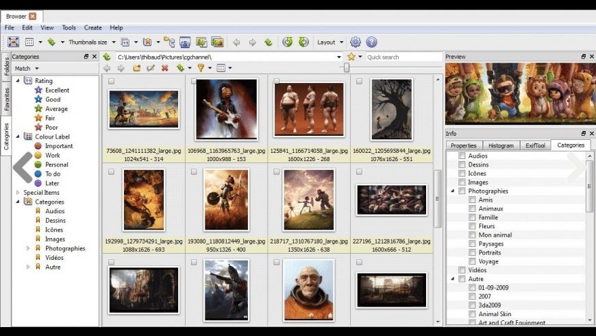 XnViewMP for Mac - review, screenshots