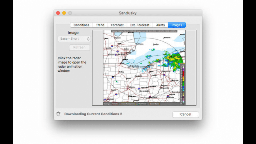 WeatherMan for Mac - review, screenshots