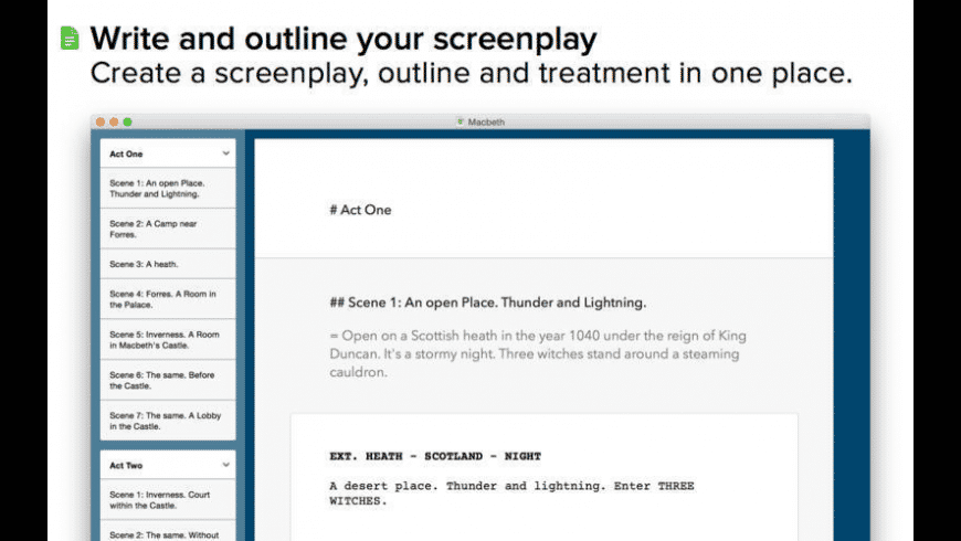 Logline for Mac - review, screenshots