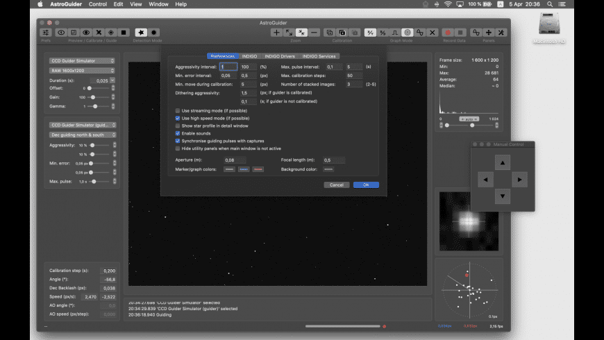 AstroGuider for Mac - review, screenshots