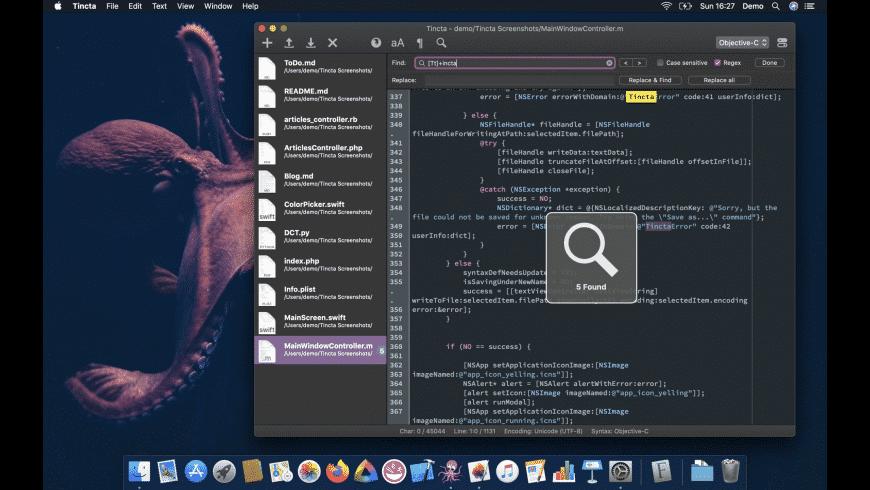 Tincta for Mac - review, screenshots