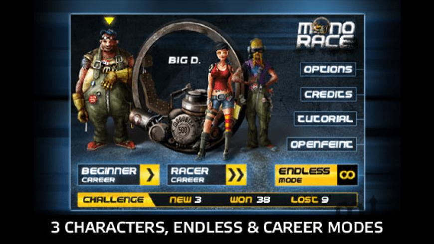 Monorace for Mac - review, screenshots