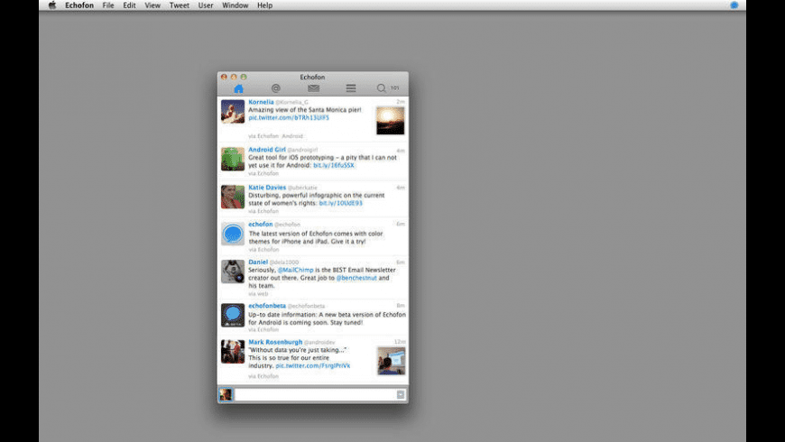 Echofon for Mac - review, screenshots
