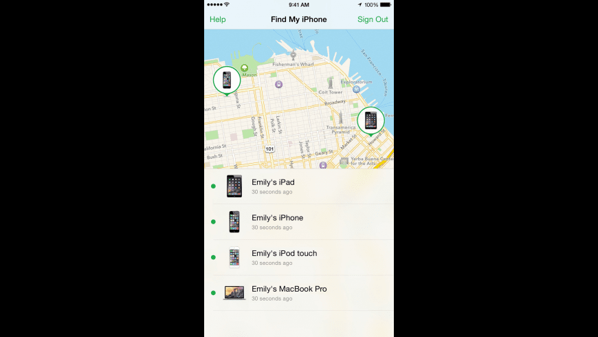 Find My iPhone for Mac - review, screenshots