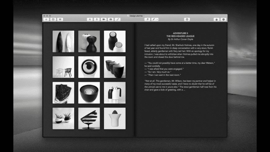 Storme for Mac - review, screenshots