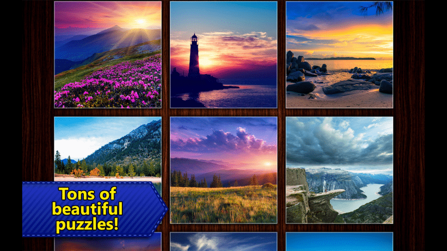 Jigsaw Puzzles Epic for Mac - review, screenshots
