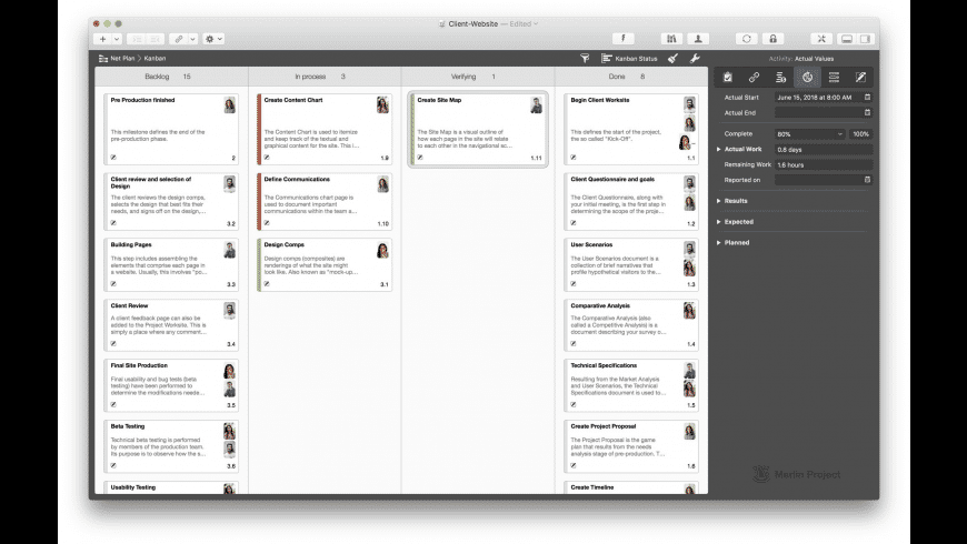 Merlin Project for Mac - review, screenshots