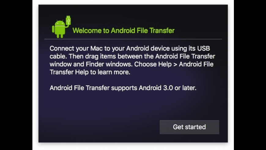 Android File Transfer for Mac - review, screenshots