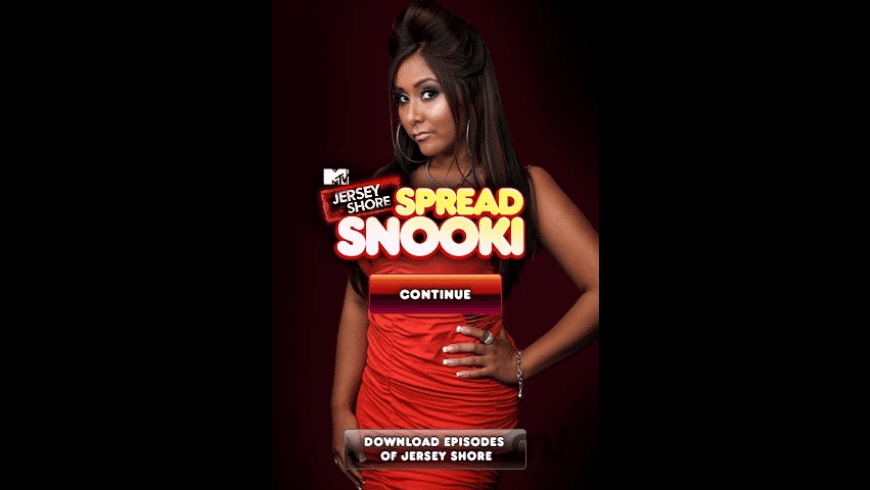 MTV's Jersey Shore: Spread Snooki for Mac - review, screenshots