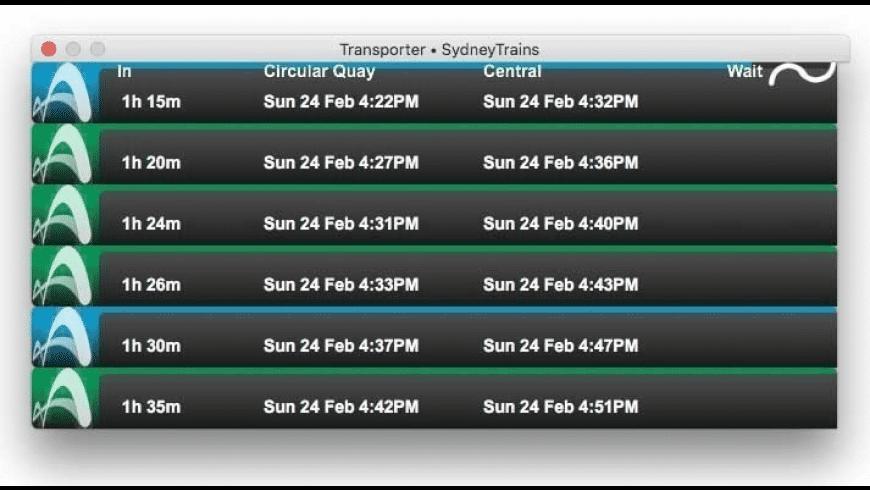 Transporter for Mac - review, screenshots