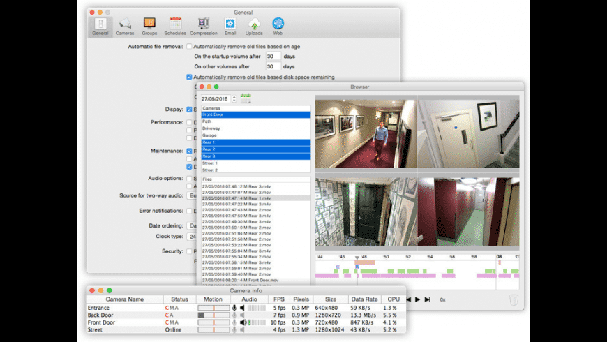 SecuritySpy for Mac - review, screenshots