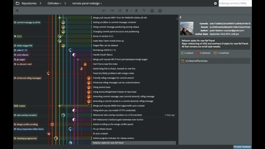 GitKraken for Mac - review, screenshots