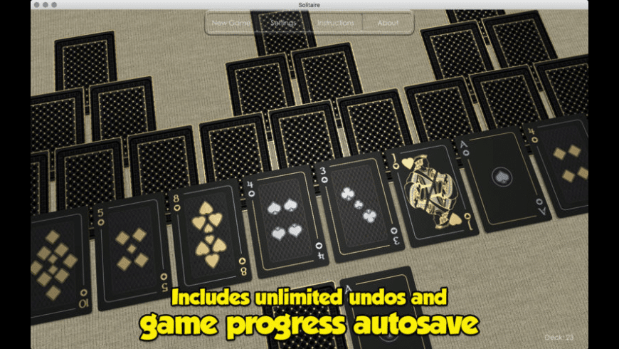 Solitaire for Mac - review, screenshots